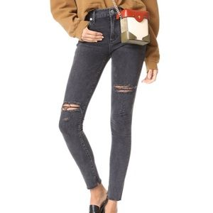AGOLDE Sophie High Rise Skinny Jean in Renegade
